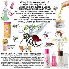 Did you know you can make a lotion to repel mosquitoes, with pink zebra soaks… Pink Zebra Facebook Party, Pink Zebra Party, Pink Zebra Home, Pink Zebra Sprinkles, Pink Zebra Consultant, Aroma Beads, Glass Candle, Smell Good