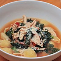 Rustic Chicken Minestrone by Serious Eats