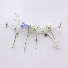 | Simple and cute deco with flowers. |