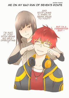 gif, mystic messenger, and luciel choi 이미지