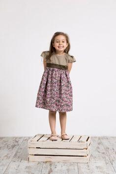 dziewczynka - moda - sukienki-Sukienka NINA