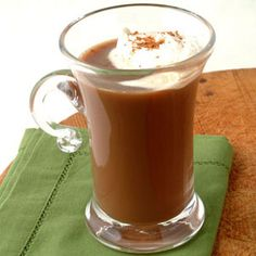 Mocha-Spiced Coffee Recipe _ Use a high-quality unflavored coffee, such as French roast, for a properly robust cup. Cinnamon Coffee, Spiced Coffee, Chocolate Syrup, Chocolate Coffee, Chocolate Recipes, Mocha Coffee, Coffee Shop, Coffee Lovers, Espresso