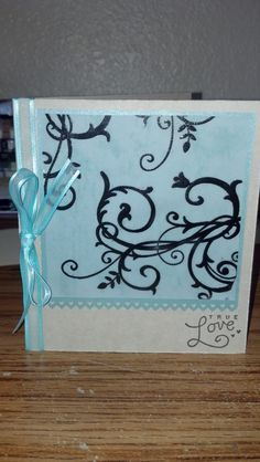 Cute card for a special someone.