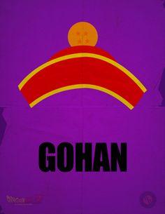 Gohan Minimalist Poster by A-B-Original