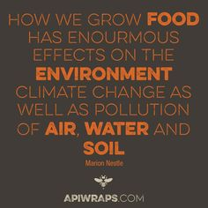 We have to keep in mind, that #food is and how we #grow it has a bigger impact of all our lives! #quote