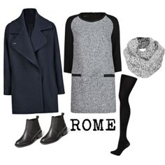 Travel Outfit Ideas for ROME in the WINTER blog with how to pack by a girl that worked in fashion before she started round the world travel. Stylish, practical, one suitcase!