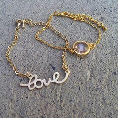 love armbånd secrets by b - Norwegian design- amazing jewelry- my favourite!