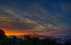 Sunrise in Seattle