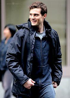 Channeling Mr. Grey! #FiftyShades #JamieDornan