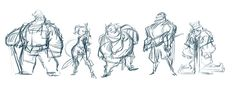 Robin Hood, Cast Design on Behance