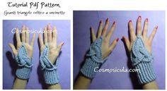 Tutorial Pattern per fare all'uncinetto dei guanti di Cosmosicula