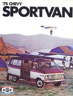1975 Chevy Sport Van
