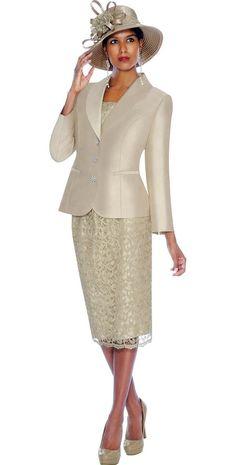 GMI G5972 Champagne - Womens Church Suits
