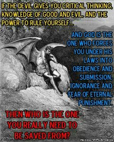 God or Satan? Atheist Humor, Atheist Quotes, Atheist Beliefs, Satanic Rules, Satanic Art, Laveyan Satanism, Spiritual Satanism, Spiritual Warfare, Athiest