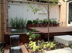 Small city garden contemporary-patio