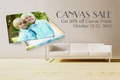 Canvas is on sale at Atlantic Photo Supply October No promo code is needed. Discount will be applied in store! Photo Supplies, Fine Art Prints, Canvas Prints, October 15, Wall Art Decor, Wrapped Canvas, Toddler Bed, Store, Home Decor