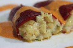 """Los """"Pimientos del piquillo rellenos de Bacalao"""" son una receta tradicional muy fácil de cocinar y de las que gusta a todo el mundo. [caption id=""""attachment_17680"""" align=""""aligncenter"""" width=""""590"""" caption=""""Imagen de http:"""