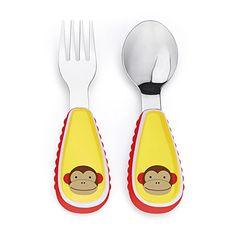 Skip Hop Zoo Utensil Set, Marshall Monkey Skip Hop https://www.amazon.com/dp/B00913CZYQ/ref=cm_sw_r_pi_dp_x_OEr9xbXM7QARH