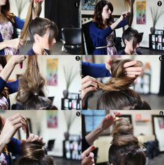 Brown Hair Extensions Can Make 5 Simple Hairstyles for Daily Life Diy Hairstyles My Hairstyle, Bun Hairstyles, Trendy Hairstyles, Gorgeous Hairstyles, Brown Hair Extensions, Elegant Bun, Teased Hair, Top Knot, Diy Hairstyles