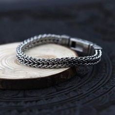 Mens Silver Jewelry, Silver Chain Necklace, Sterling Silver Bracelets, Silver Earrings, Gold Chains For Men, Bracelets For Men, Bracelet Men, Jewelry Bracelets, Necklaces