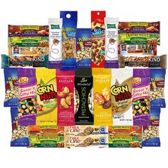 Healthy Nuts and Bars Variety Snacks Pack (30 Count) >>> Trust me, this is great! Click the image. : Fresh Groceries