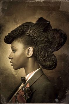 Titled 'Dandy Queens,' French magazine Blackattitude and photographer Prisca M. Monnier visually channel this trend and culture, adding beautiful and elaborate hairstyles to the mix, put together by artist Nadeem Mateky.
