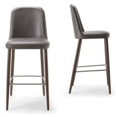 Find the perfect modern or mid-century modern bar stool for your home or business at EMFURN. Many styles in stock - leather, upholstered, wood and more.