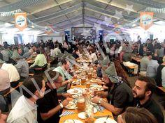Mesas plegables para eventos y fiestas de la cerveza