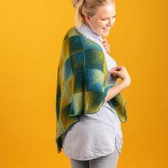 Jade - Dominosjal Mönster Fur Coat, Pullover, Sweaters, Jackets, Design, Fashion, Down Jackets, Moda, Sweater