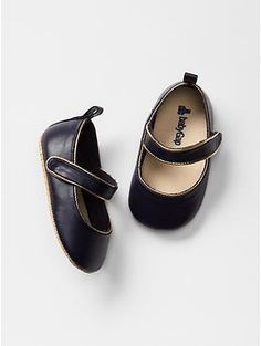 Faux leather mary jane flats | Gap