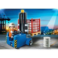 Playmobil City Action Wózek widłowy, 5257, klocki