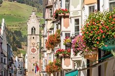 Vipiteno, South Tyrol, Italy. German is s till spoken in this formerly Austrian village.