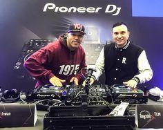 #fastforwardfriday Me and @djirwan two weeks ago at the @dancefairofficial to do some showcases for Pioneer DJ. Looking fresher than we did back in the days buddy!  #DJ #RealDJing #turntablism #PioneerDJ #SeratoDJ #DJM #S9 #PLX1000 #DJM900NXS2 #CDJ2000NXS2 #showcase #demo by djtlm
