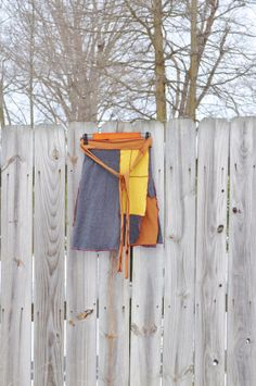 Sweater Wrap Skirt/ Upcycled Sweater Wrap/ by RebirthRecycling, $55.00