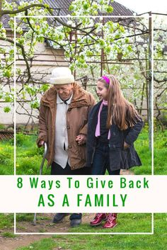 Raise compassionate kids and show them how to give back with these inspirational family activities. Lots of ideas for reaching to help others.