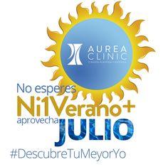 ¡Buenos días! Descubre nuestras promociones para julio y vive el verano a tope http://aureaclinic.com/promos/