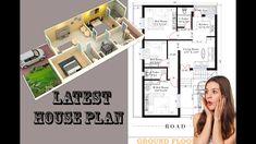 Village House Design, Village Houses, Modern Small House Design, Front Elevation Designs, House Plans, Floor Plans, How To Plan, Architecture, Arquitetura