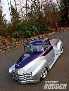1947 Chevy Pickup Two Tone