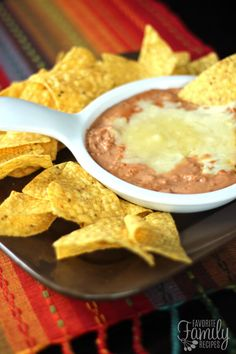 Cheater Restaurant Style Refried Beans have a yummy, restaurant like, creamy consistency and flavor. I always use this for a side to our Mexican dishes.