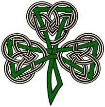 i love irish stuffs.like clovers and celtic knots Lucky Tattoo, Shamrock Tattoos, Knife Tattoo, Celtic Tree, Clover Green, Tattoo Inspiration, Vikings, Tatting, Irish