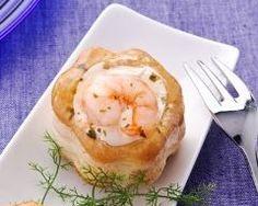 Vol-au-vent aux crevettes (facile, rapide) - Une recette CuisineAZ