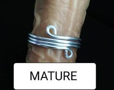 Check out our glans ring selection for the very best in unique or custom, handmade pieces from our body jewelry shops. Body Jewelry Shop, Body Jewellery, Horseshoe Ring, Marble Jewelry, Metal Art Projects, Pink Jewelry, Festival Fashion, Erotic, Daddy