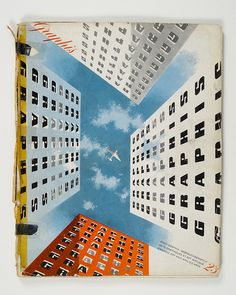 Cover of Graphis magazine by Joseph Binder, 1948 #magazine #cover