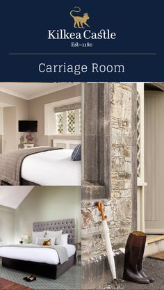 Celebrate Spring with a stay in our Carriage Rooms at Kilkea Castle! We are happy to organize a horseback riding excursion to enjoy the stunning Kildare County countryside! Horseback Riding, Lodges, Countryside, Ireland, Organize, Bedrooms, Castle, Luxury, Spring