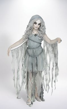 Looking for an enchanted costume this Halloween? Our girl's ghost costume is the perfect fit! Visit our Savers store today to make this ghost costume yours. Gothic Halloween Costumes, Hallowen Costume, Halloween Costumes For Girls, Halloween Fancy Dress, Halloween Kids, Scary Girl Costumes, Toddler Girl Costumes, Halloween Party, Fancy Dress Costumes Kids