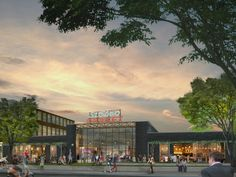 Saint Elmo Public Market rendering South Austin 2015 plan moved forward!