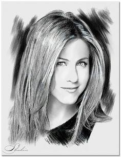Jennifer Aniston by shahin