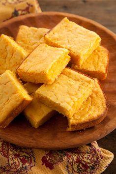Paula Deen Sweet Potato Buttermilk Cornbread  (delicious - might add a bit more sweet potato next time.)