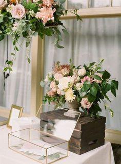 20 Modern Wedding Card Boxes You'll Like | HappyWedd.com
