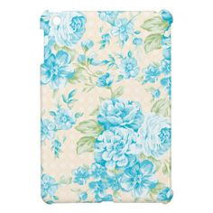 Vintage floral design, with blue flowers on a crea cover for the iPad mini In our offer link above you will seeDeals          Vintage floral design, with blue flowers on a crea cover for the iPad mini today easy to Shops & Purchase Online - transferred directly secure and trusted che...